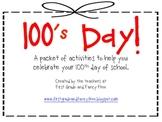 100's Day Unit