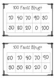 100s Facts Bingo Game