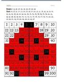 100s chart hidden picture - ladybug