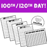 100th / 120th Day of School Activities and Printables
