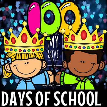 100th DAY OF SCHOOL CROWN