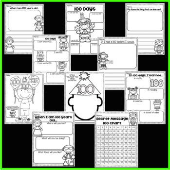 100th Day of School packet (Kindergarten)