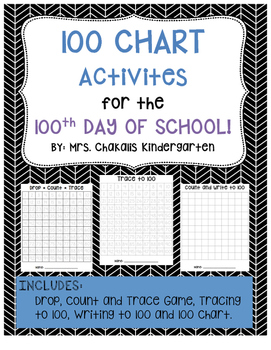 100th Day 100 Chart Activities