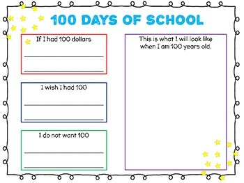 100th Day - 100 Days of School