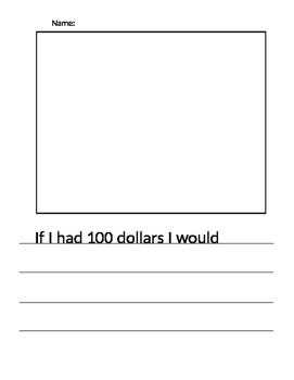 100th Day - 100 Dollars