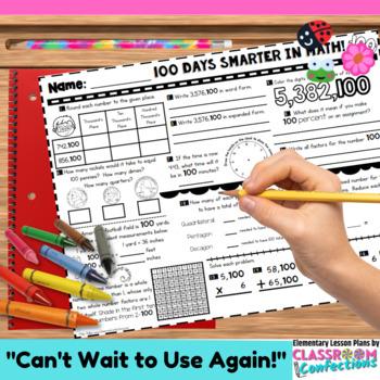 100th Day of School: Math