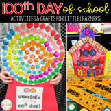 100th Day of School | 20 No Prep 100th Day Activities & Crafts