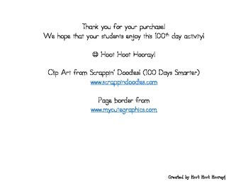 100th Day ABC Order