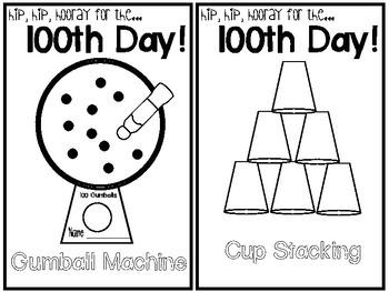 100th Day Acitivites!