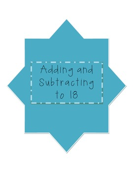 Adding and Subtracting to 18