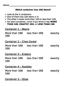 100th Day Activity Bundle