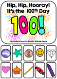 100th Day of School Adapted Interactive Book {Autism, Early Childhood, SPED}