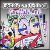 100th Day Art Project, Graffiti
