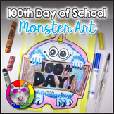 100th Day Art Project, Monster