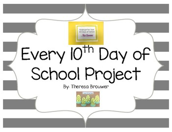 100th Day Art Projects Every 10th Day