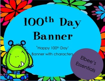 100th Day Banner