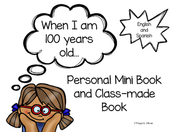 100th Day Book--in English and Spanish
