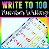 100th Day Book of Numbers 1 to 100 Hundredth Day Math Acti