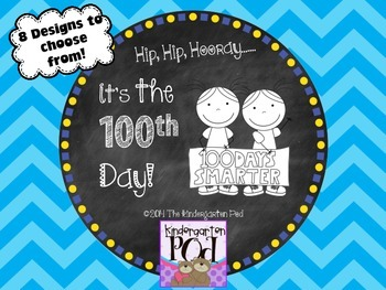 100th Day Bookmarks ~ FREEBIE!
