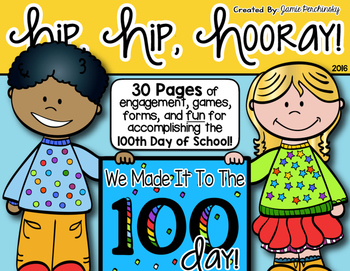100th Day of School Activity Pack!