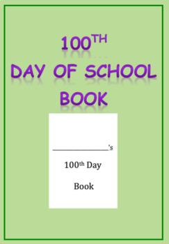 100th Day Celebration Book