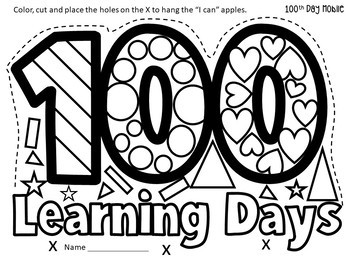 100th Day of School Activities Celebration Bundle