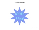 100th Day Celebration Fun Activities