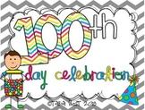 100th Day Celebration {mini unit}