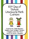 100th Day Centers- 2nd Grade Common Core Aligned