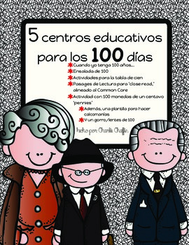 100th Day Centers Spanish Bundle
