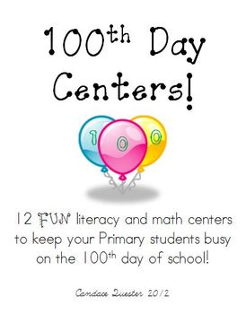 100th Day Centers and Activities