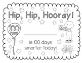 Hip Hip Hooray! {100th Day Certificate}