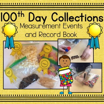 100th Day Collections: Measurement Events and Record Book