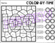 100th Day Color-by-Time: Time Worksheets