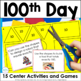 100th Day Math Activities and Games