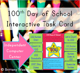 100th Day Computer Center Interactive Review Activities