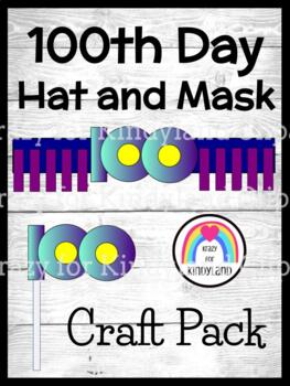 100th Day Craft FREEBIE: Hat/Mask
