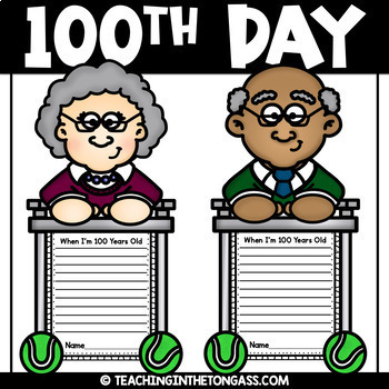 100th Day of School Craft Activity (Craftivity)