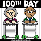 100th Day of School Craft Activity (Craftivity)