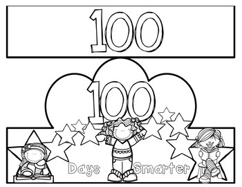 100th Day and Birthday Crown