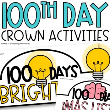 100th Day Crown {English & Spanish}