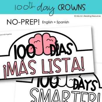 100th Day Crown {English & Spanish}
