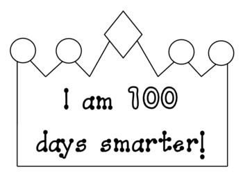 100th Day - Crown Pattern