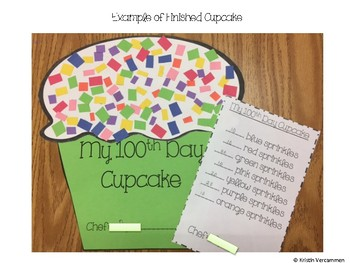 100th Day Cupcake