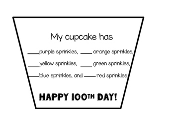 100th Day Cupcake Celebration