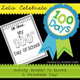 100th Day Editable Activity Book
