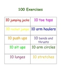100th Day Exercises
