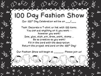 100th Day Fashion Show