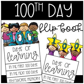 100th Day Flip Book
