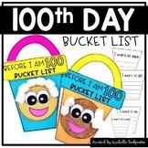 100th Day of School Activities   Before I am 100 Bucket List Flip Book